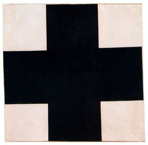 Kazimir Severinovich Malevich - Black Cross