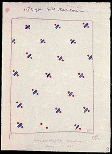 Kazimir Severinovich Malevich - Design for Suprematist Fabric