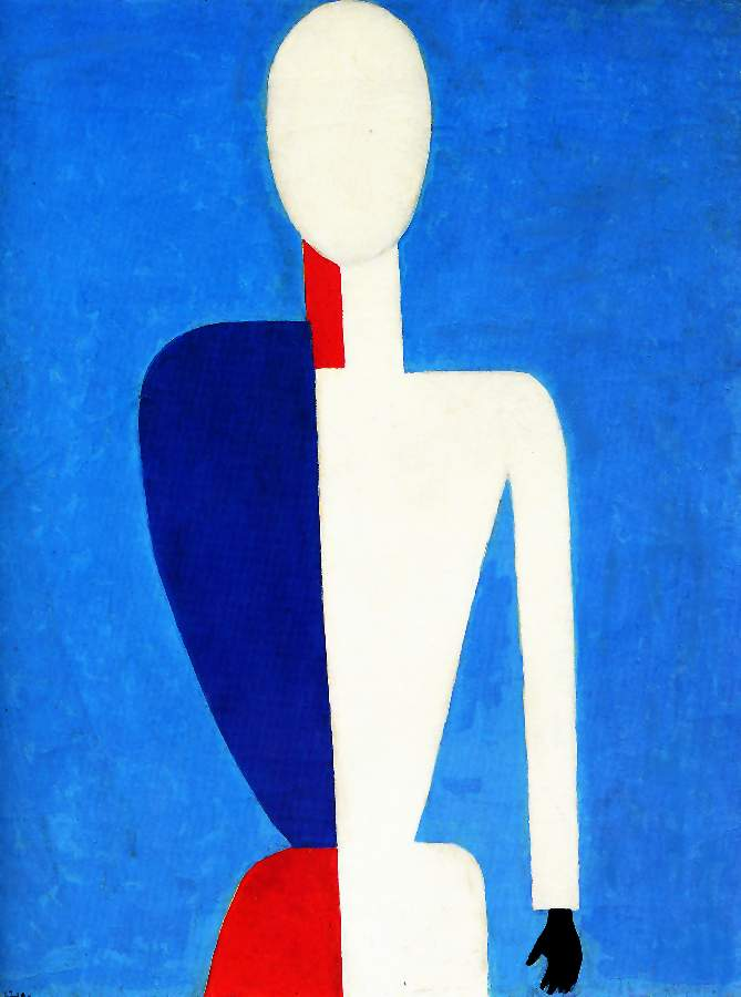 Prototype of a new image by Kazimir Severinovich Malevich (1878-1935, Ukraine) | Museum Quality Reproductions | WahooArt.com