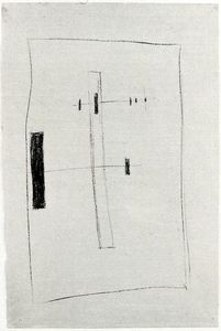 Order Framed Giclee Suprematist Drawing 2 by Kazimir Severinovich Malevich (1878-1935, Ukraine) | WahooArt.com | Order Print On Canvas Suprematist Drawing 2 by Kazimir Severinovich Malevich (1878-1935, Ukraine) | WahooArt.com