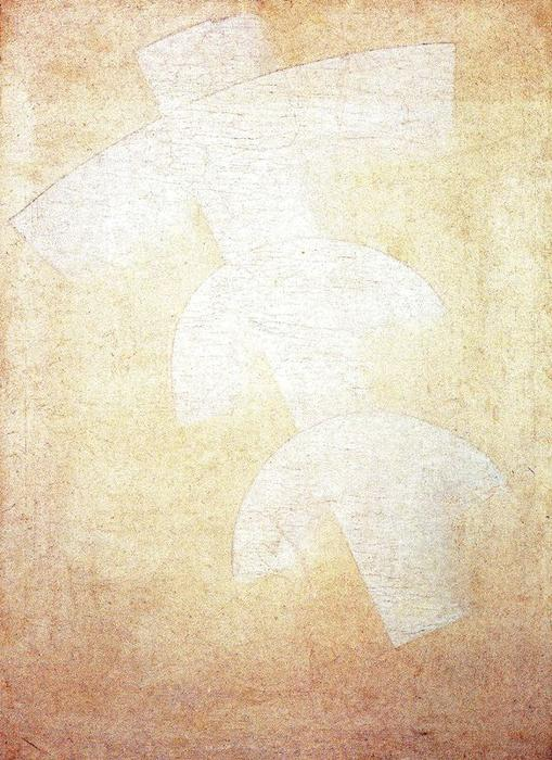 Suprematist Painting 2 by Kazimir Severinovich Malevich (1878-1935, Ukraine) | Museum Quality Reproductions | WahooArt.com