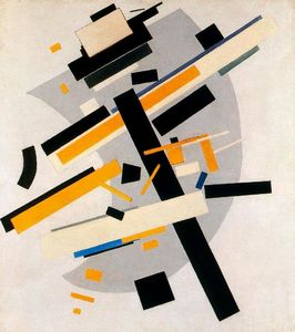 Kazimir Severinovich Malevich - Yellow and Black