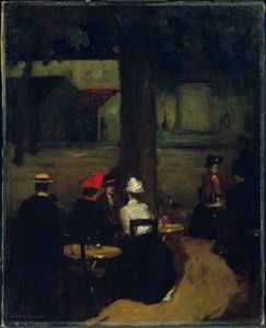 Robert Henri - Sidewalk Cafe