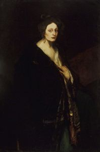 Robert Henri - Woman in Manteau