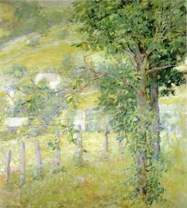 Robert Lewis Reid - Hillside in Summer