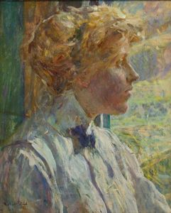 Robert Lewis Reid - Portrait of Mrs. Robert Reid