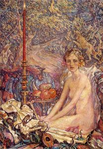 Robert Lewis Reid - Spirit of the Garden