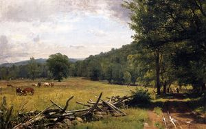 Thomas Worthington Whittredge - The Meadow