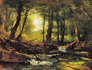 Thomas Worthington Whittredge - Woodland Glade