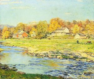 Willard Leroy Metcalf - Late Afternoon in October