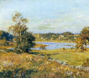 Willard Leroy Metcalf - The Breath Of Autumn (Waterford, Connecticut)