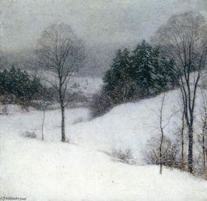 Willard Leroy Metcalf - The White Veil
