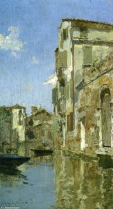 Willard Leroy Metcalf - Venice