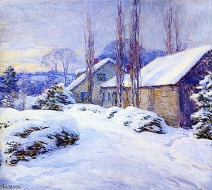 Willard Leroy Metcalf - Winter Afternoon