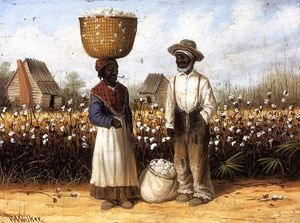 William Aiken Walker - Cotton Pickers 1