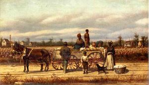 William Aiken Walker - Noon Day Pause in the Cotton Field