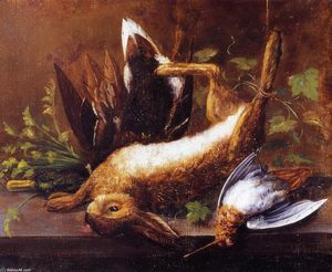 William Aiken Walker - Rabbit, Duck and Snipe