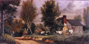 William Aiken Walker - Scene near Arden, North Carolina