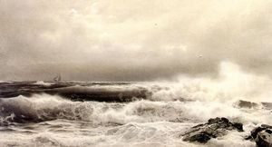 William Trost Richards - A Storm