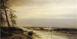 William Trost Richards - Atlantic City Shoreline
