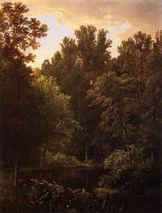 William Trost Richards - Forest Pool