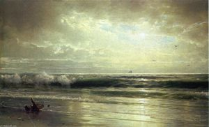 William Trost Richards - On the Coast of New Jersey