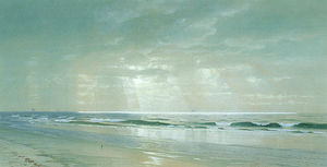 William Trost Richards - Surf