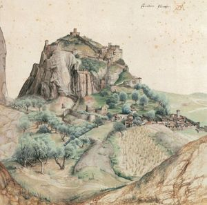 Albrecht Durer - Castle And Town Of Arco