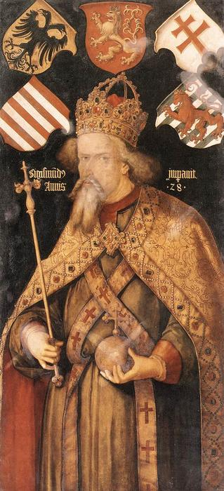 Emperor Sigismund, 1512 by Albrecht Durer (1471-1528, Italy) | Museum Quality Reproductions | WahooArt.com