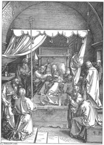 Albrecht Durer - Life Of The Virgin. 17. The Death Of Mary