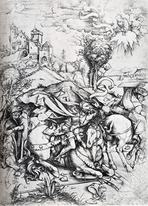 Albrecht Durer - The Conversion Of St. Paul
