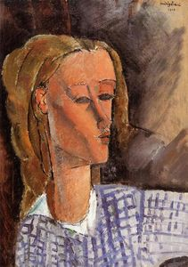 Amedeo Modigliani - Portrait of Beatrice Hastings