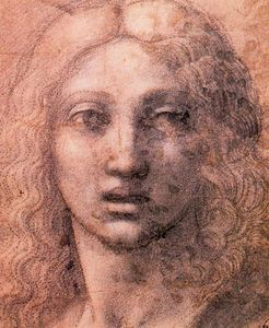Antonio Allegri Da Correggio - Head of the Young Chist