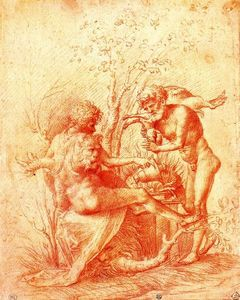 Antonio Allegri Da Correggio - Molorchus sacrifices a victim to Hercules in Nemea