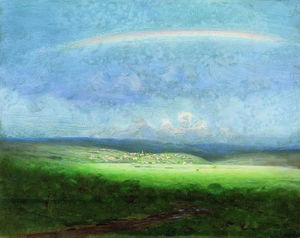 Arkhip Ivanovich Kuinji - After the rain. Rainbow