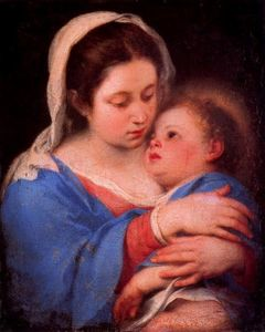 Bartolome Esteban Murillo - Virgin and the Child 1