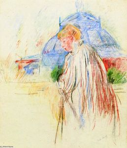 Berthe Morisot - At the Exposition Palace