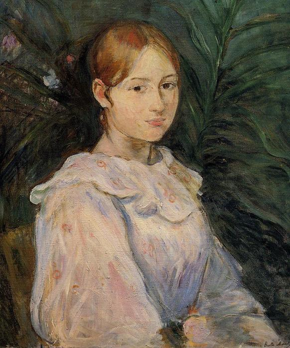Bust of Alice Gamby, 1890 by Berthe Morisot (1841-1895, France) | Art Reproduction | WahooArt.com