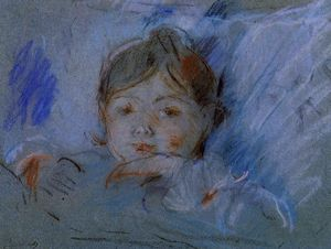 Berthe Morisot - Child in Bed