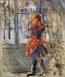 Berthe Morisot - Child with a Red Apron