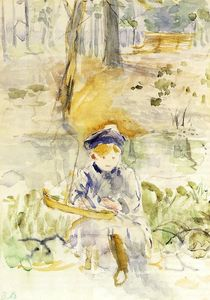 Berthe Morisot - Julie and Her Boat
