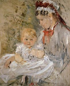 Berthe Morisot - Julie with Her Nurse