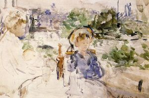 Berthe Morisot - Luncheon in the Countryside