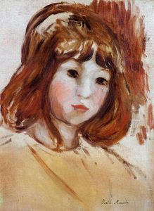 Berthe Morisot - Portrait of a Young Girl