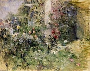 Berthe Morisot - The Garden at Bougival