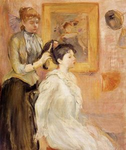 Berthe Morisot - The Hairdresser
