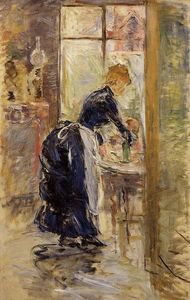 Berthe Morisot - The Little Maid Servant