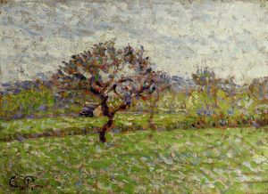Camille Pissarro - An Apple Tree at Eragny