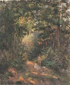 Camille Pissarro - Autumn (aka Path in the Woods)
