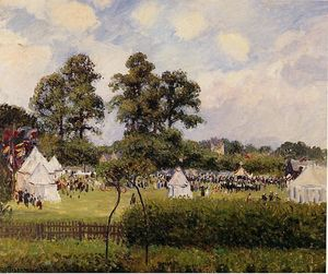 Camille Pissarro - Jubilie Celebration at Bedford Park, London